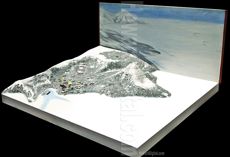 Antarctica topo site models mcmurdo station site model 3d model sites