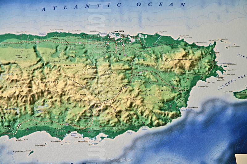 Puerto Rico City Map Site Models Puerto Rico Site Model - Maps puerto rico