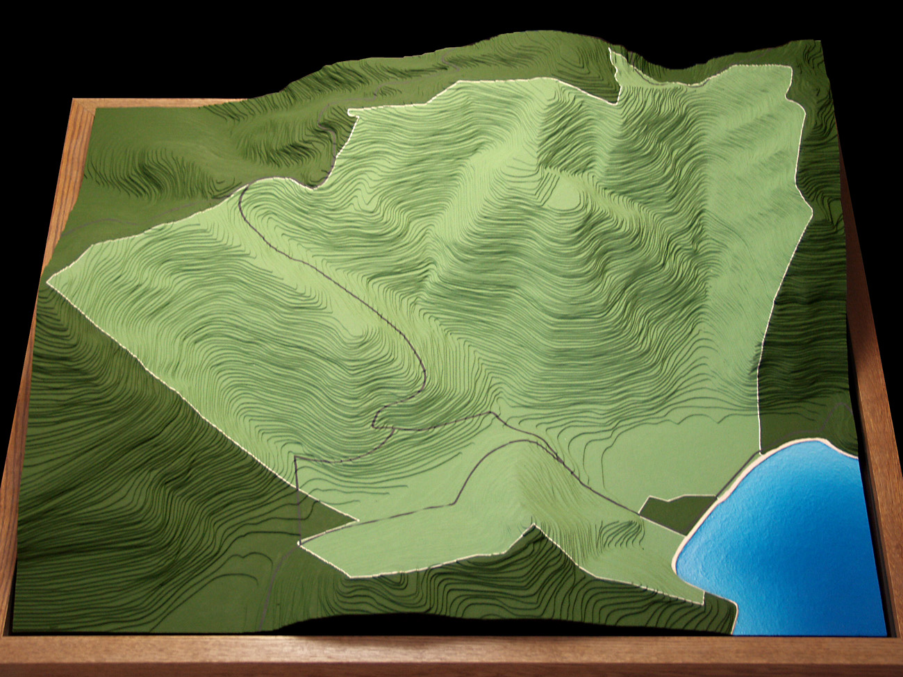 Maho Bay Topo Model Maho Bay Topographic Model Howard Models - 3d topographical map of us