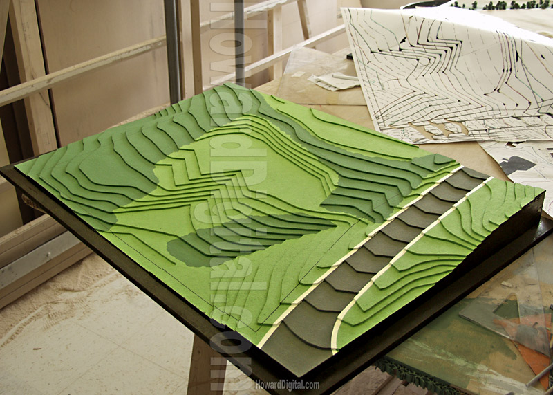 Missouri Model Glencairu Topographic Model Howard Models