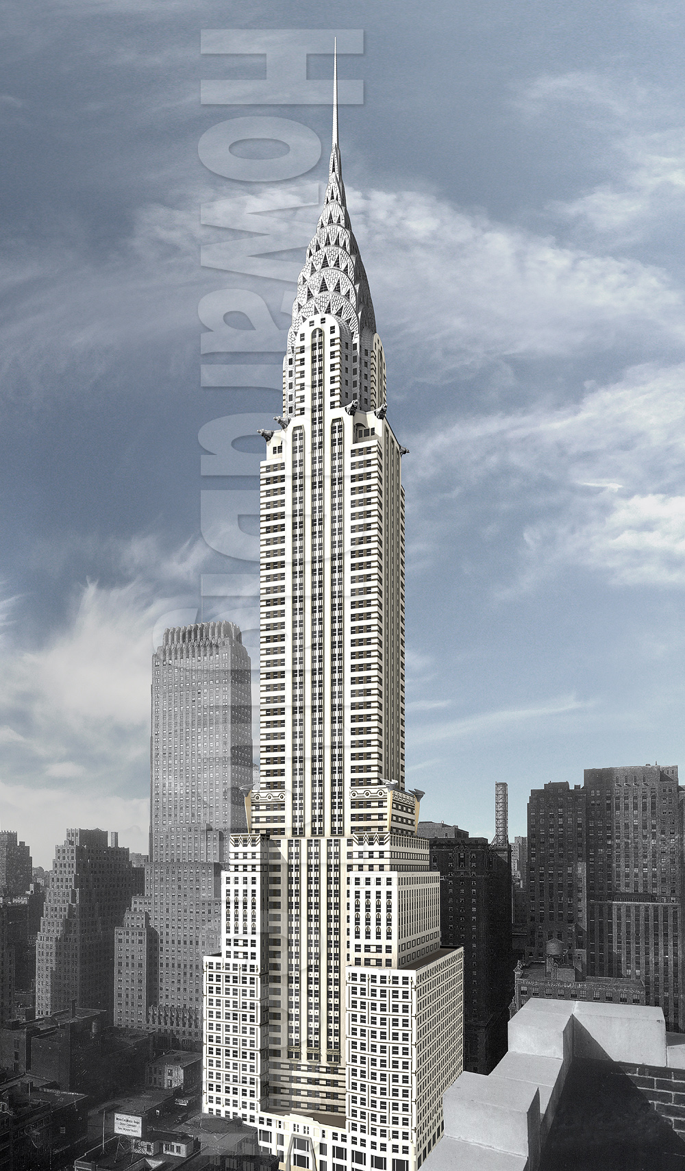 King kong chrysler building