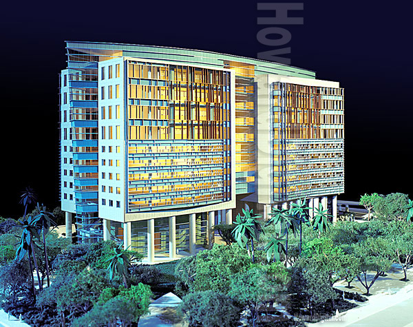 Architectural Model Builder Howard Architectural Models US Courthouse Miami