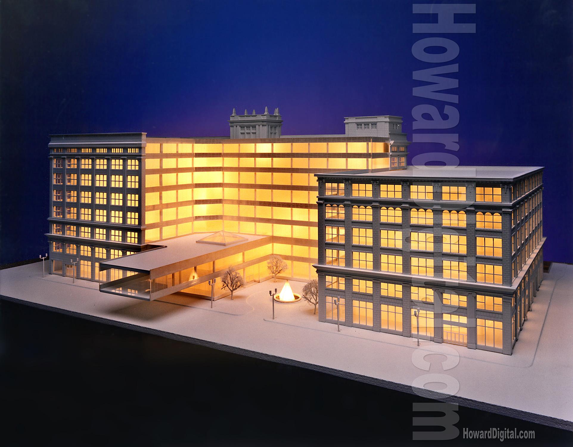 Howard Architectural Models Marshall Field S Model