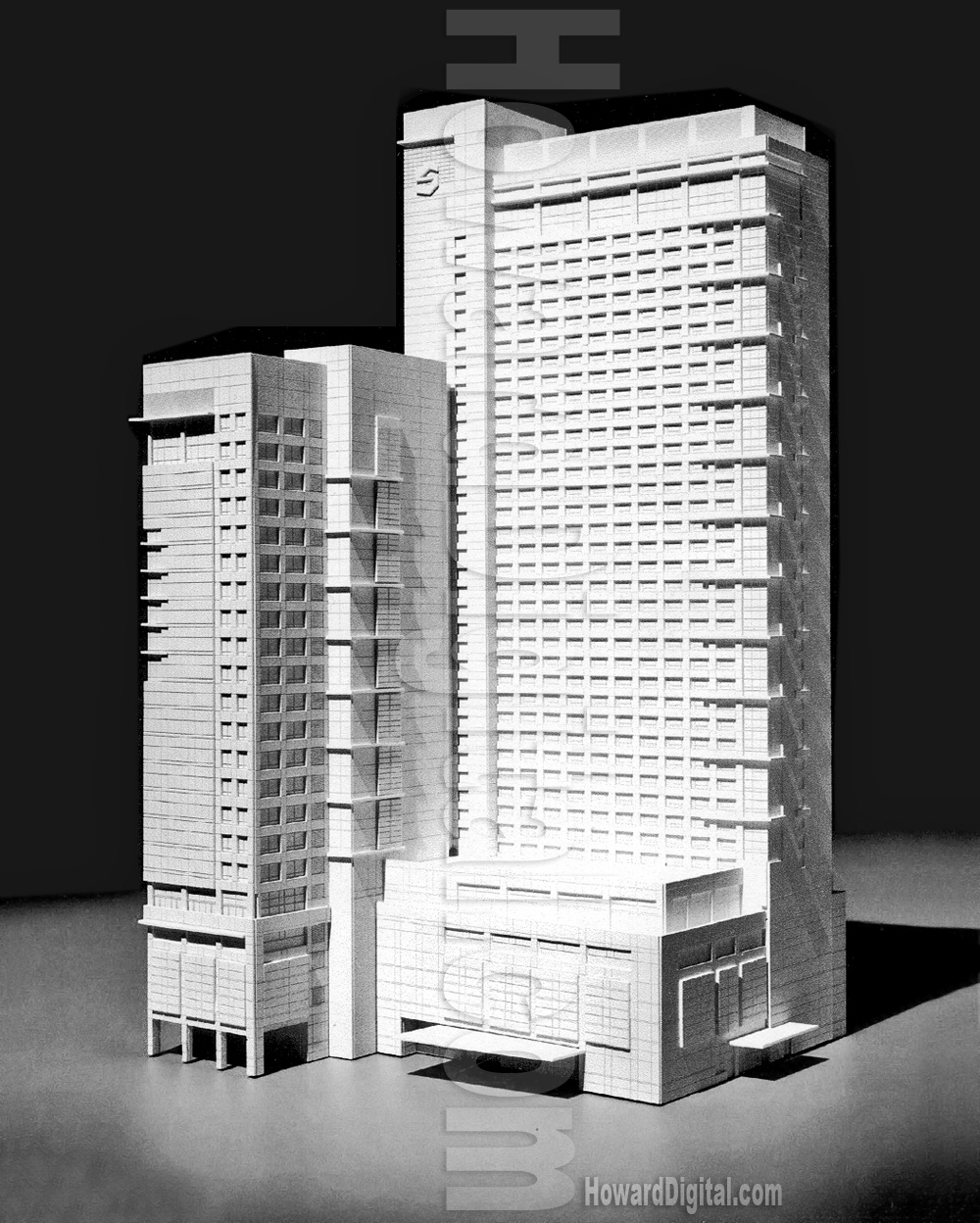 architectural scale models hotel shangrila architectural scale