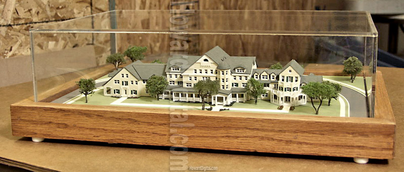 longaberger miniature howard architectural scale models