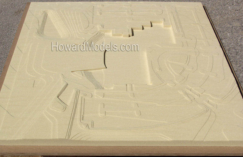3d topography model