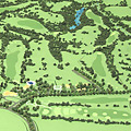 Golf Terrain Model
