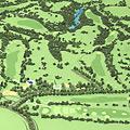 Golf Terrain Model