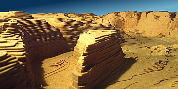 topographical model
