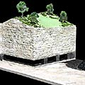 Coal mine relief model