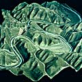 Topography maps model