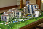 Beach Villas Architectural Scale Model