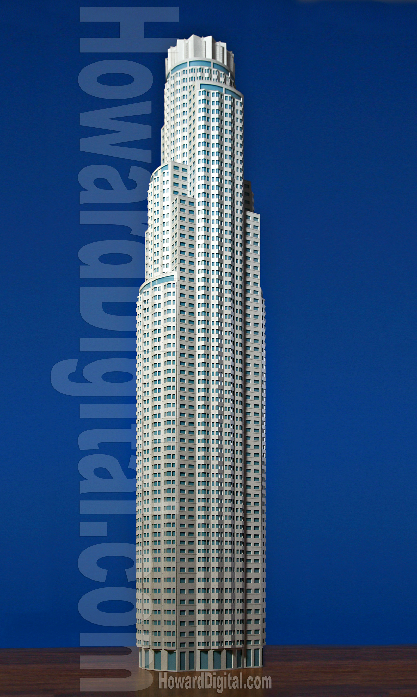 US Bank Tower - Howard Architectural Models, Architectural Model