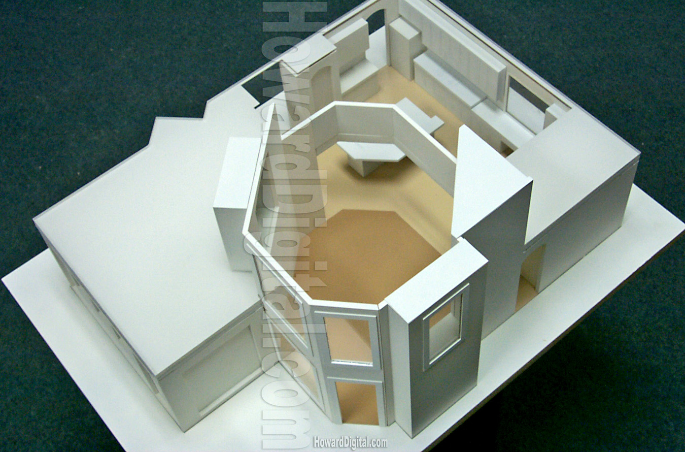 Interior design model architectural model howard for 3d decoration models