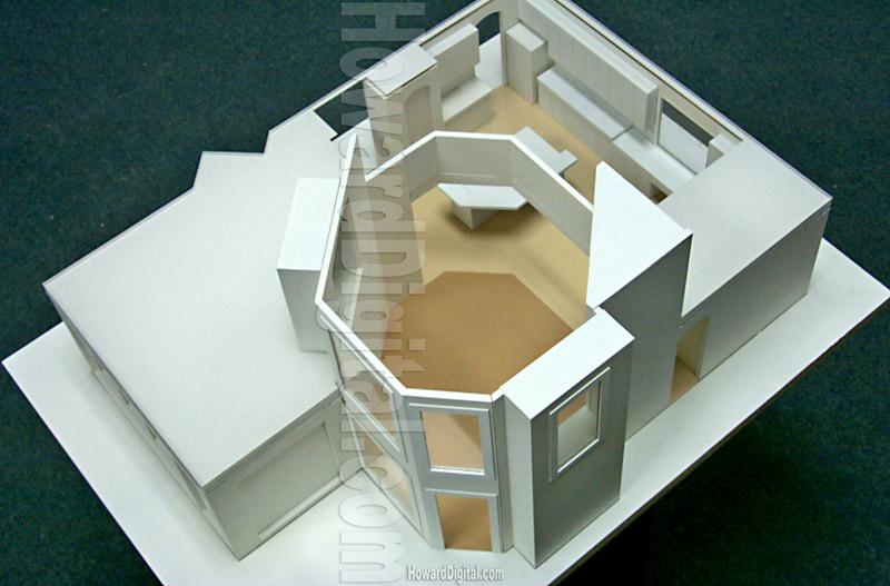Interior Design Model   Howard Architectural Models