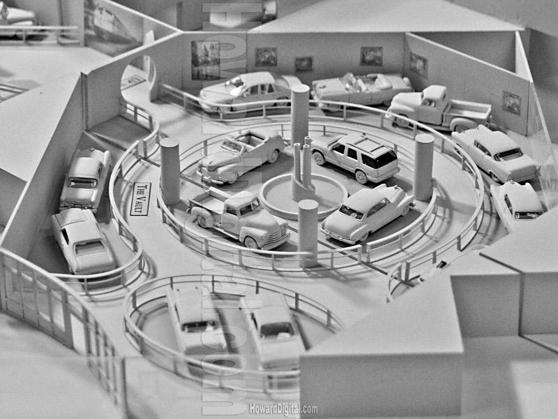 General Motors Howard Architectural Models Gm Heritage Museum Renaissance Center Detroit