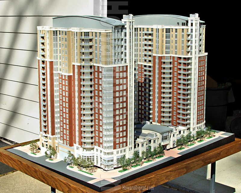 Architectural Scale Model, Reston VA Real Estate - Howard Architectural Models