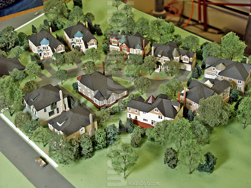 Architectural model homes