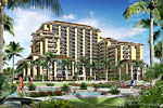 Beach Villas Resort Rendering