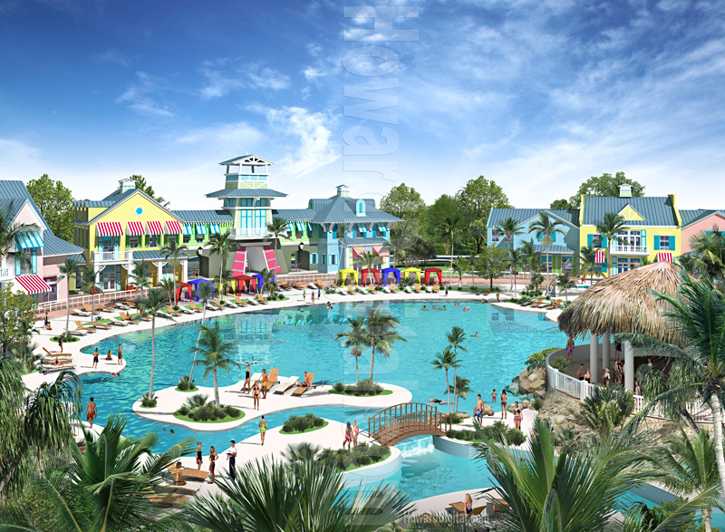 Architectural Renderings San Rio Resort Shallotte