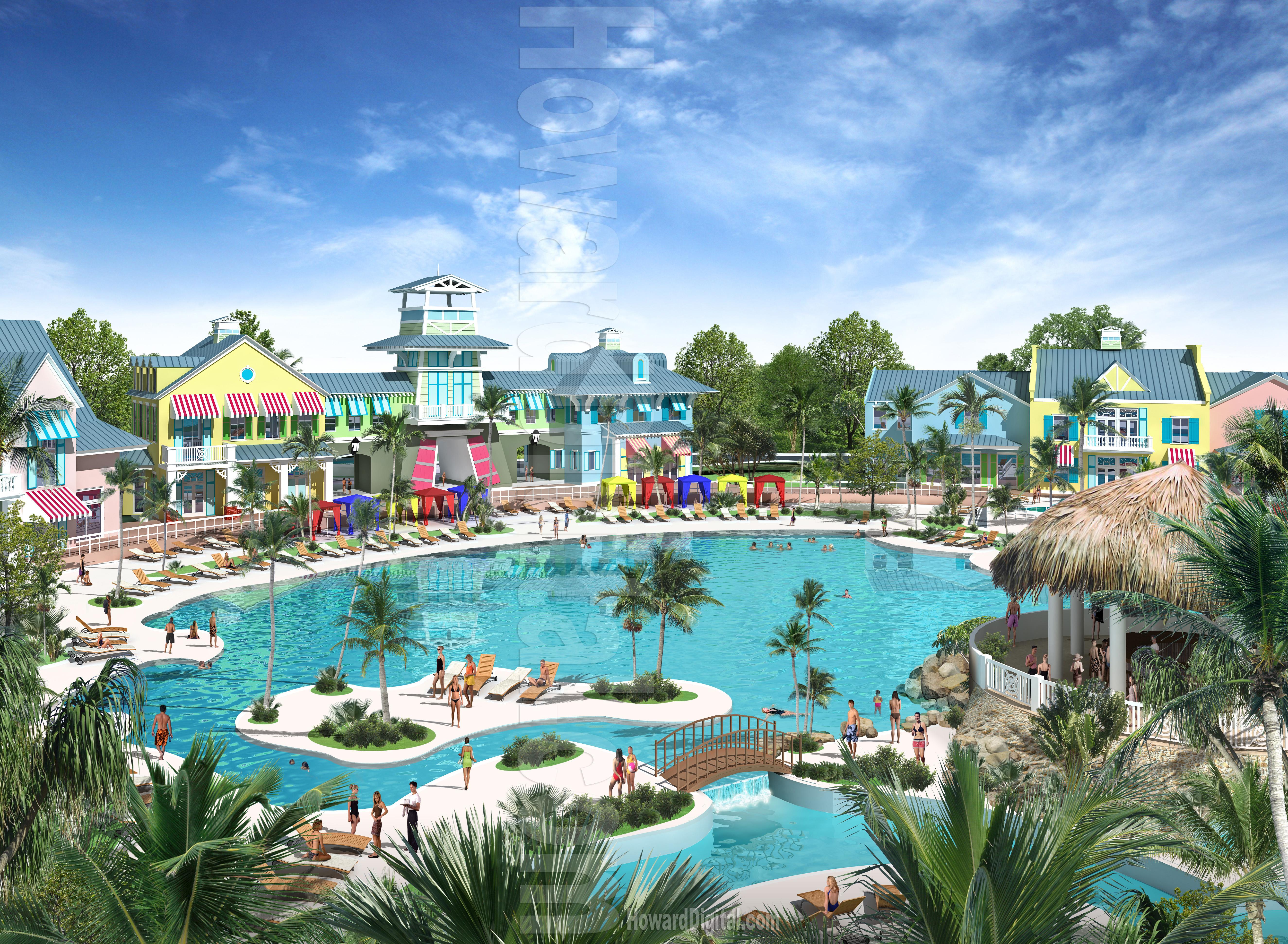 Architectural Renderings San Rio Resort Shallotte