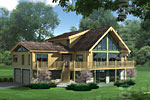 Alta-Log House Renderings