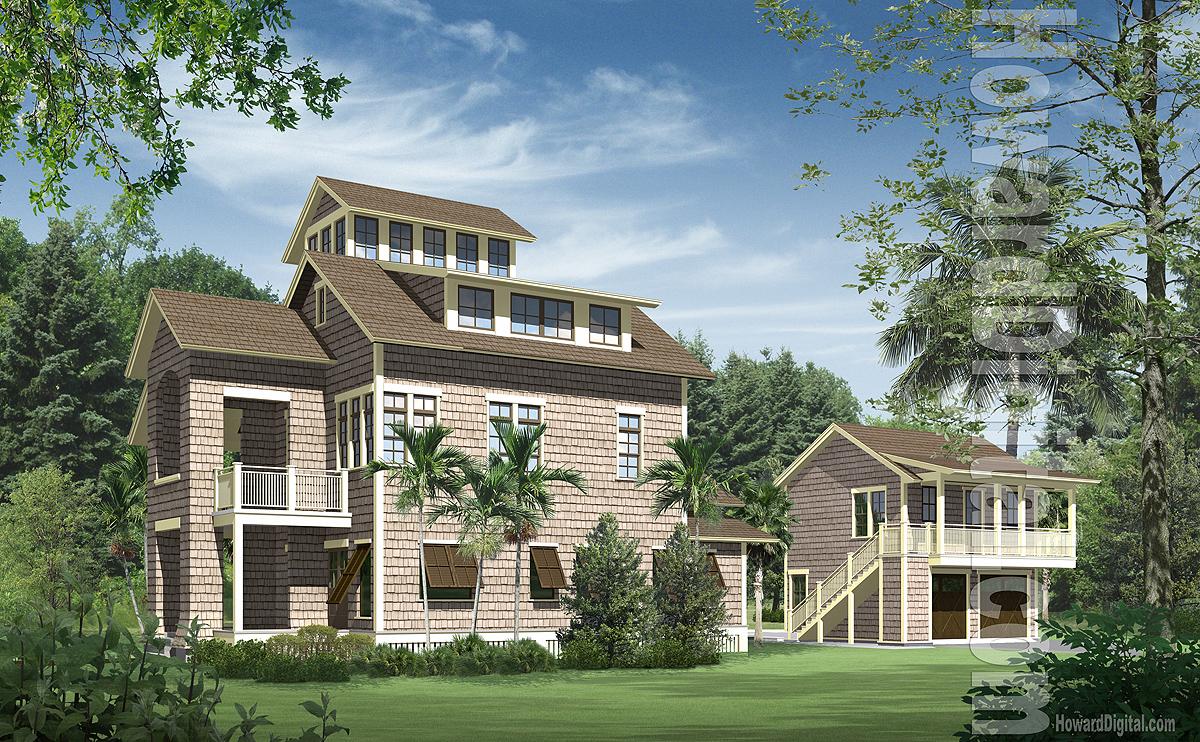 28 house rendering howard digital house renderings for Digital home designs