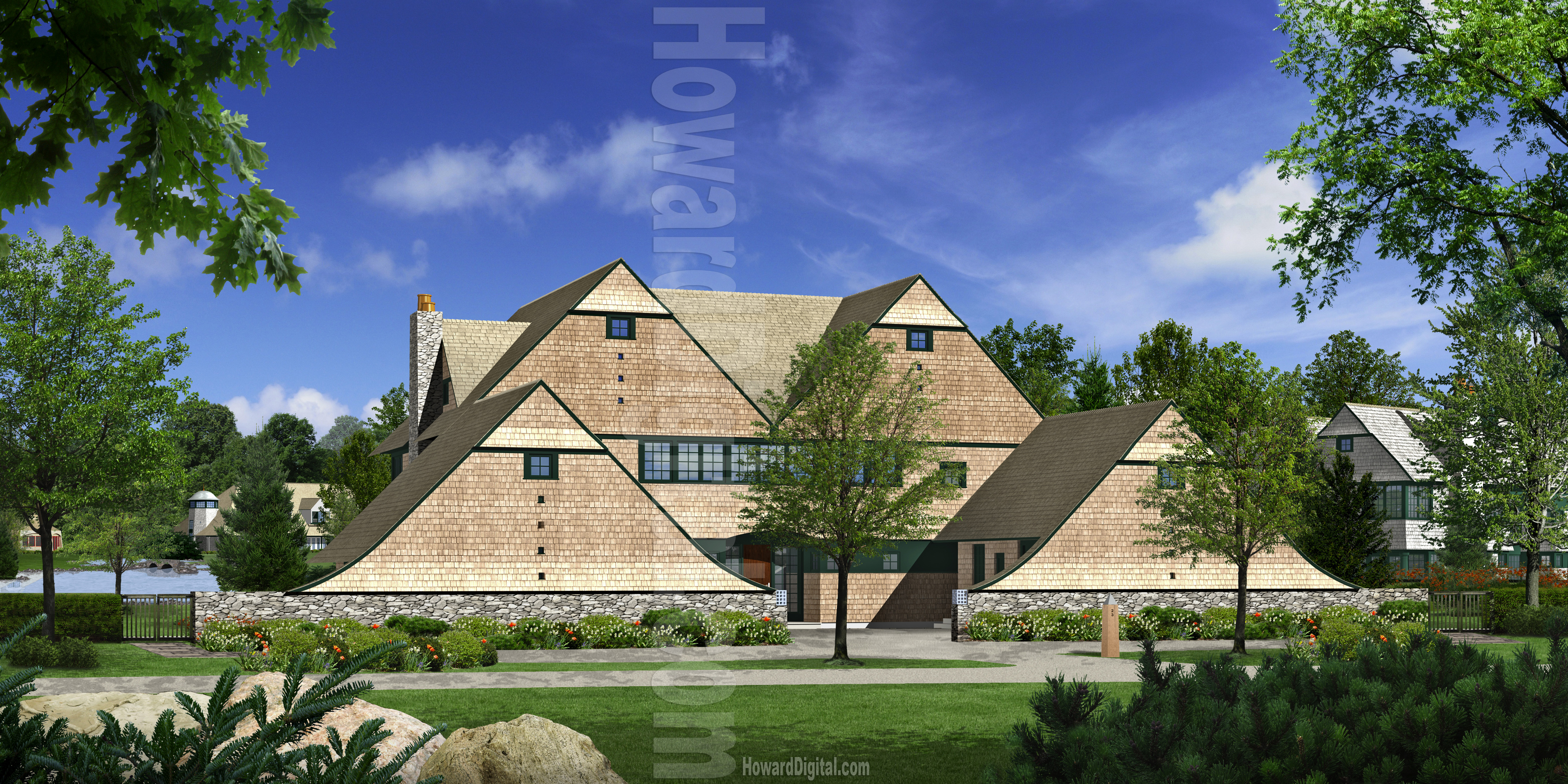 Architectural Rendering Architectural Illustrations By