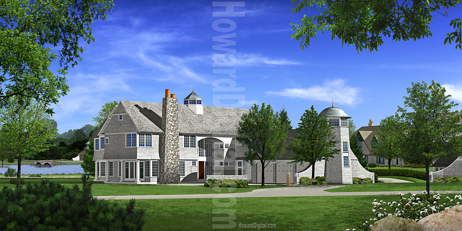 Architectural Presentation Windermere House Renderings