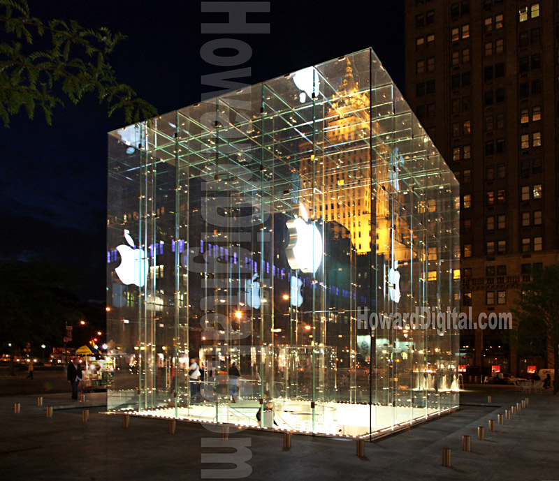 Photography - APPLE STORE at Apple Plaza - NYC - Howard Digital ...