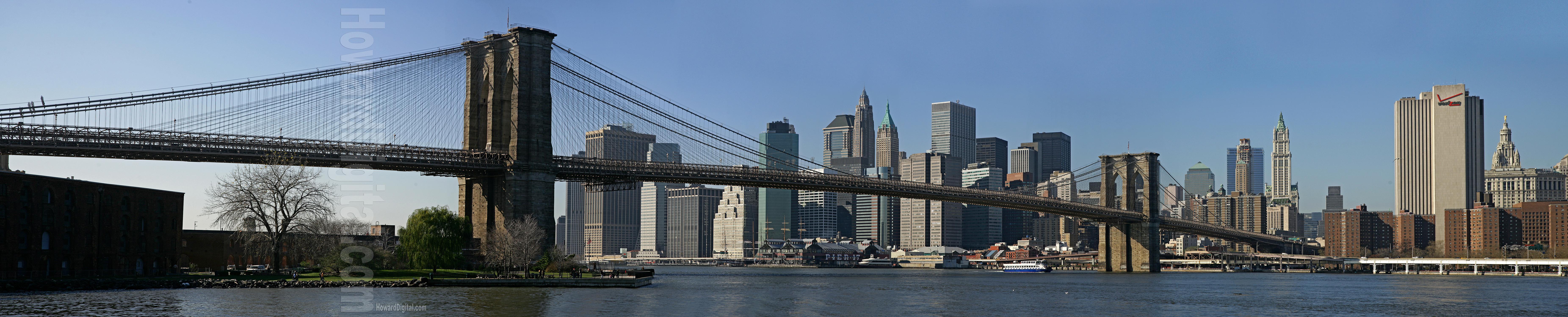 brooklyn bridge panoramic panoramas photography nyc howard