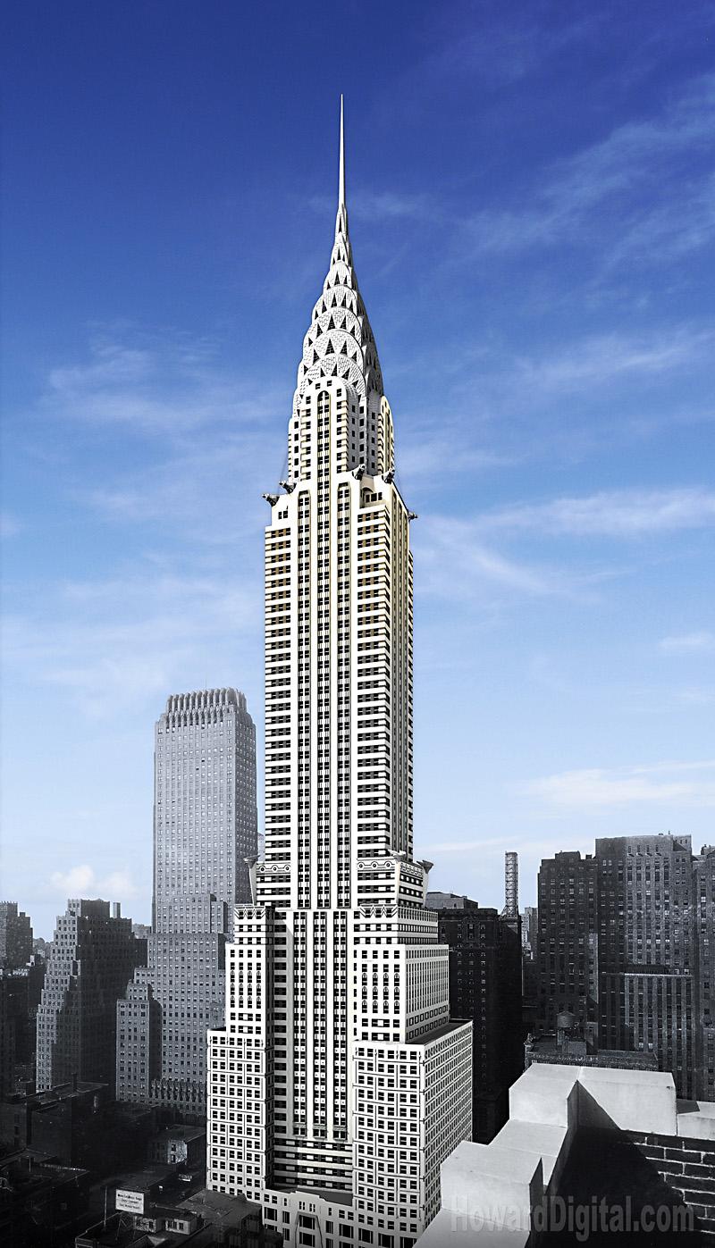 New York Chrysler Chrysler Building Photography Nyc