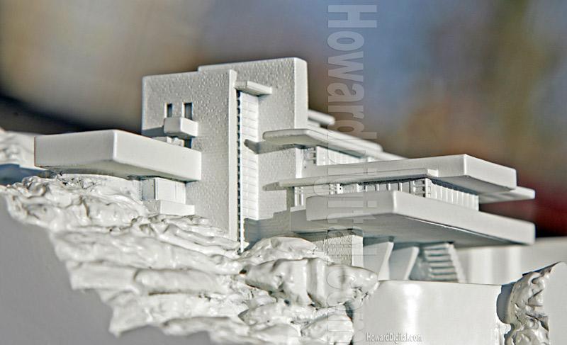 Model : Affleck House | Frank Lloyd Wright | Falling Waters ...