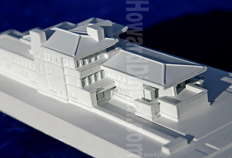 Robie house scale model