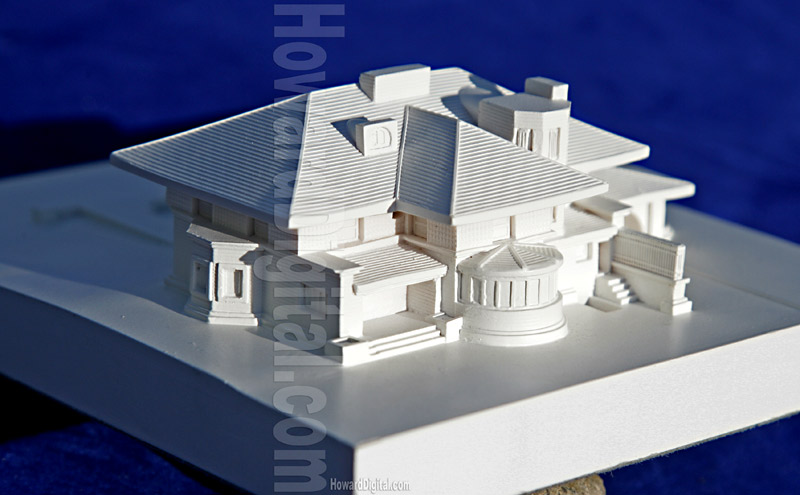 The winslow house by frank lloyd wright howard for Architecture house models