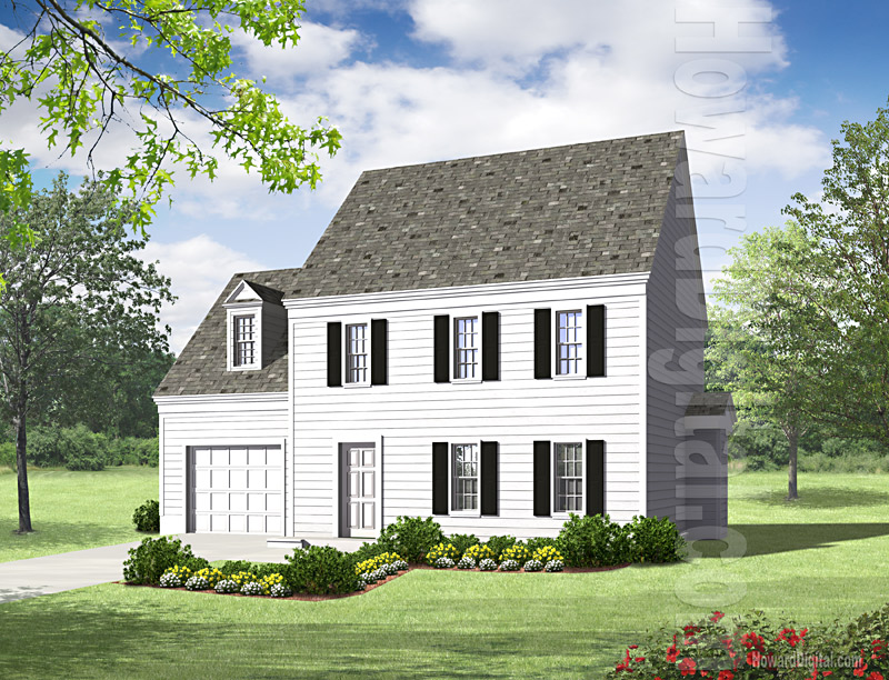House Illustration - Home Rendering - Fayetteville - North Carolina