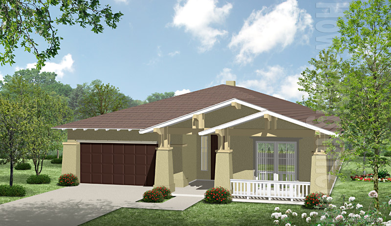 House Illustration Home Rendering Waco Texas House