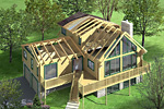 log home renderings