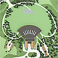 site-plan-model Woodstock Bethel Performing Arts Center