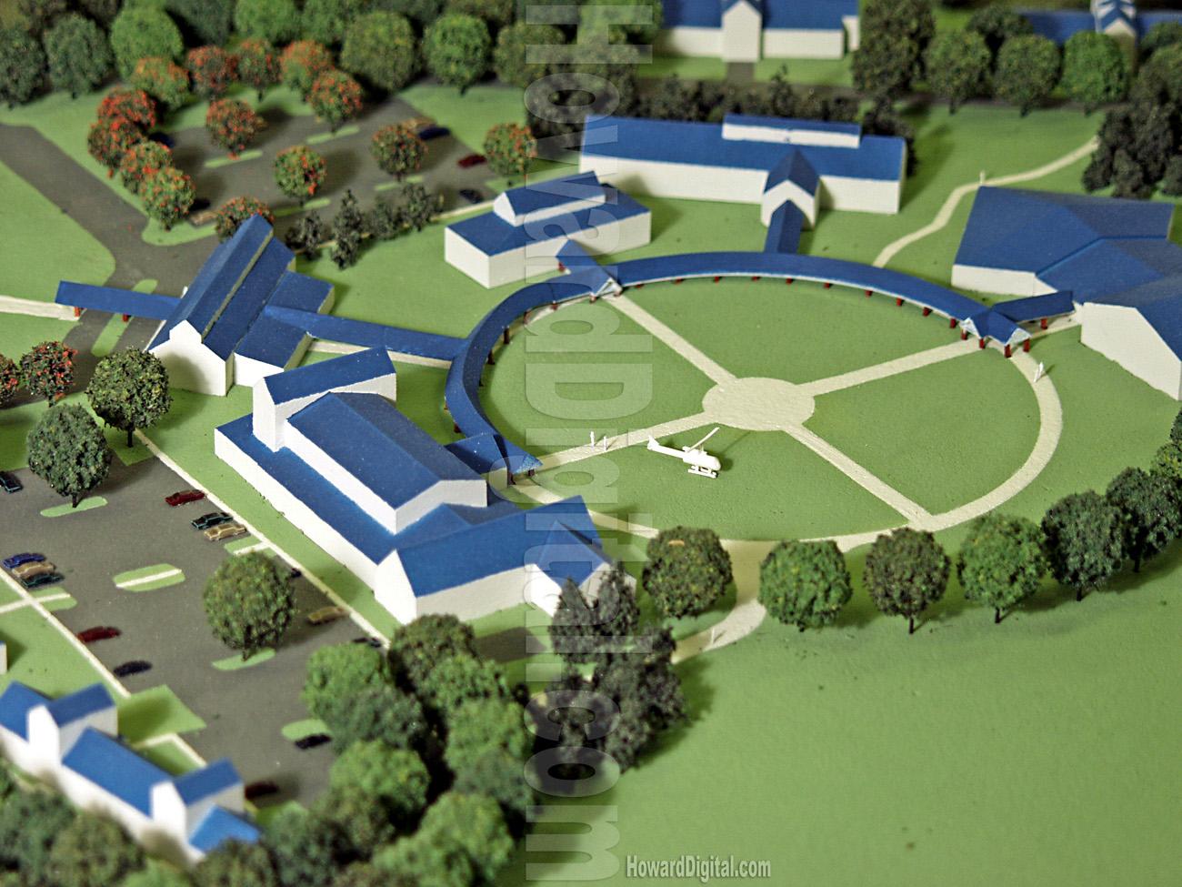 Landscape Model Camp Courageous Landscape Model Howard Models