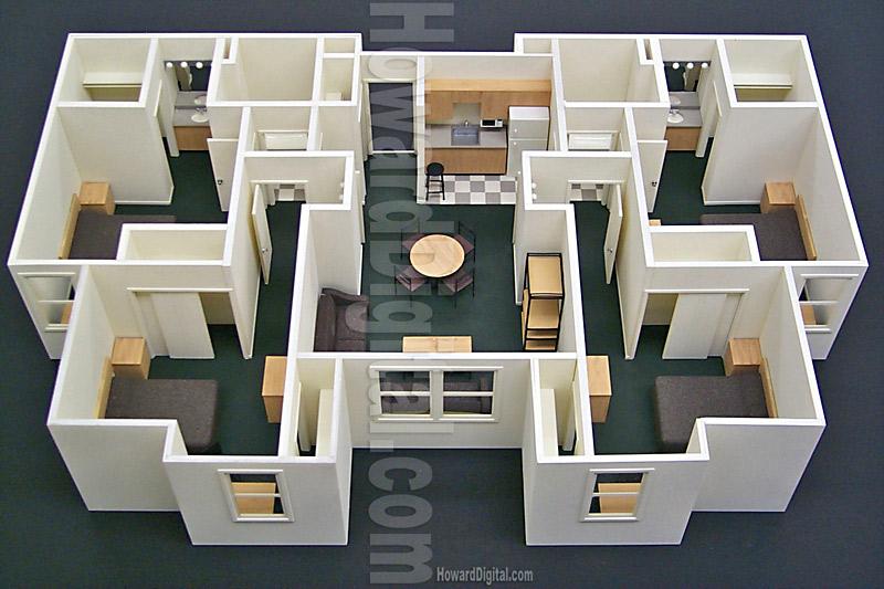Interior Model Howard Architectural Models Architectural Model