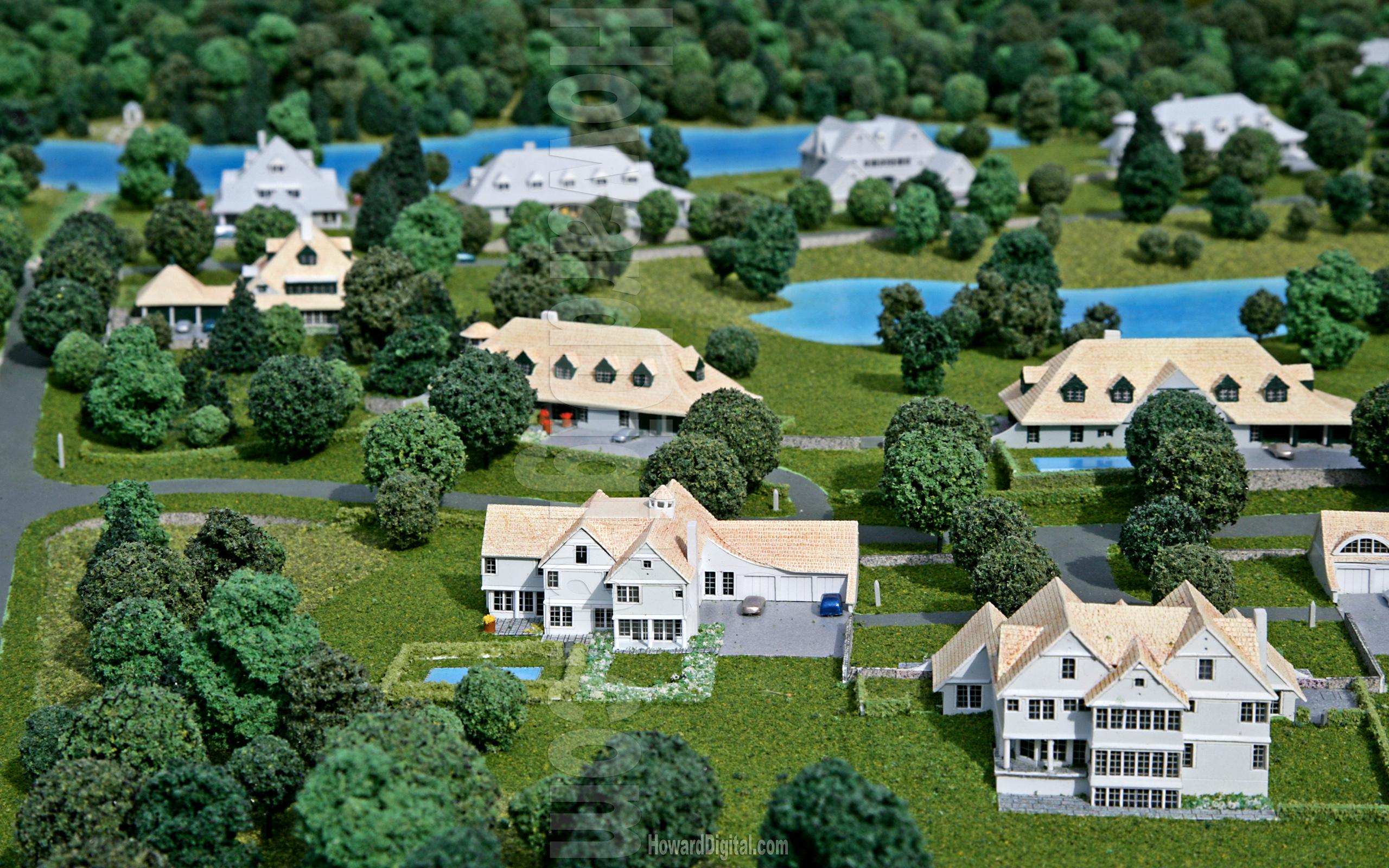 Windermere - Architectural Model - Howard Architectural Models