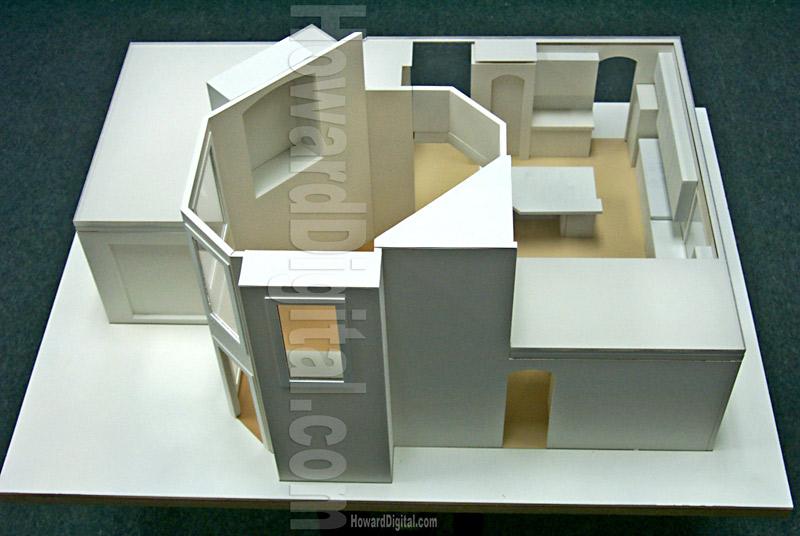 Americad Interior Model Architectural Model Howard Architectural
