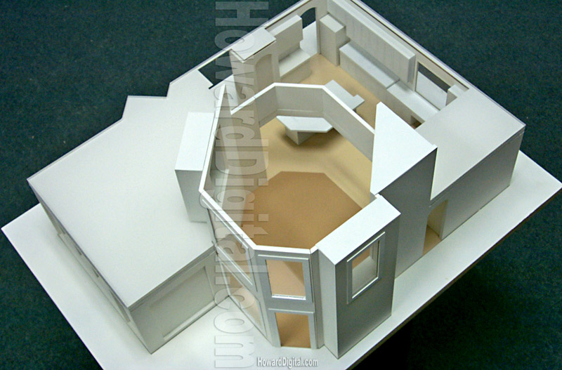 Interior Design Model Architectural Model Howard