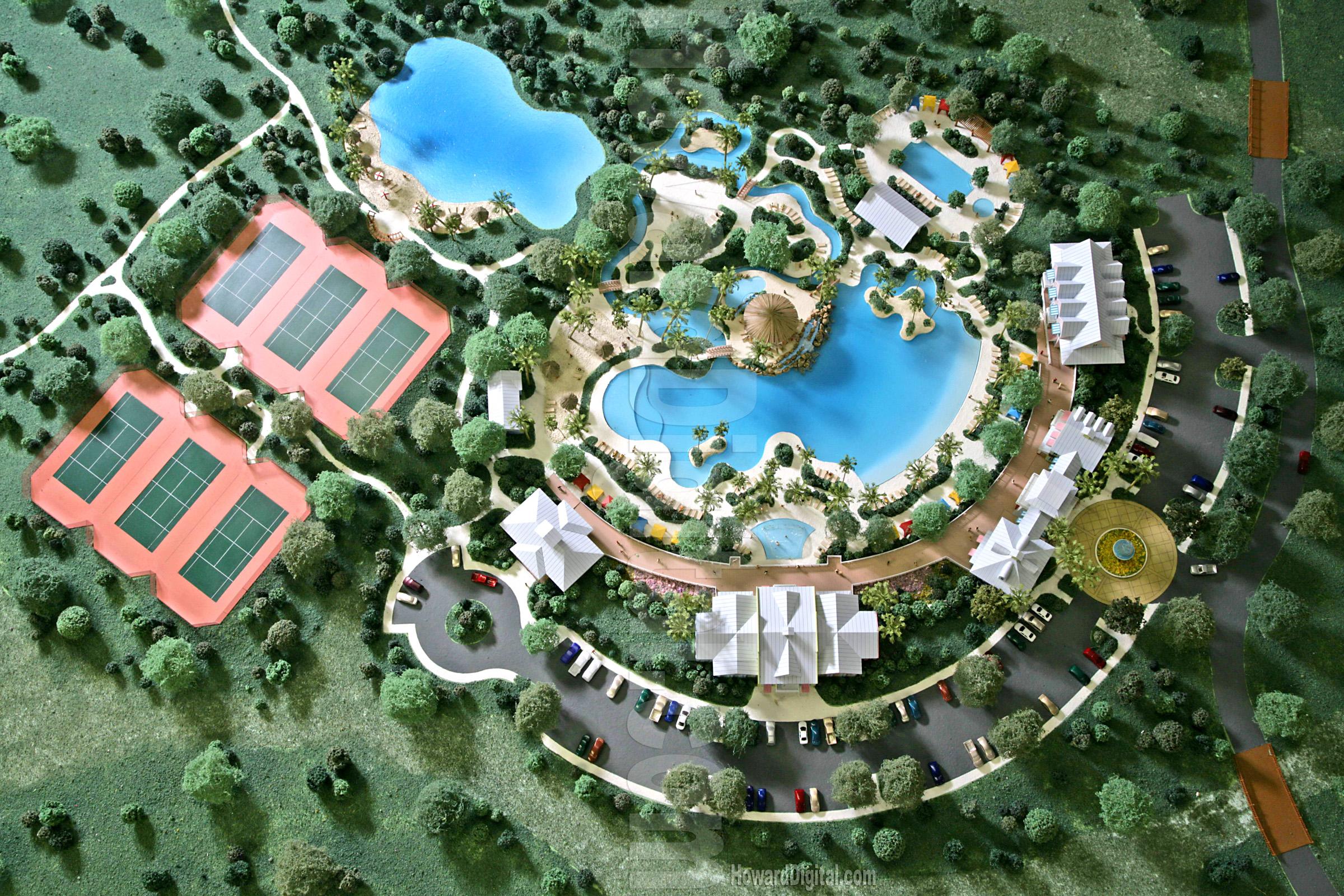 Site Plan North Carolina Home Architectural Model