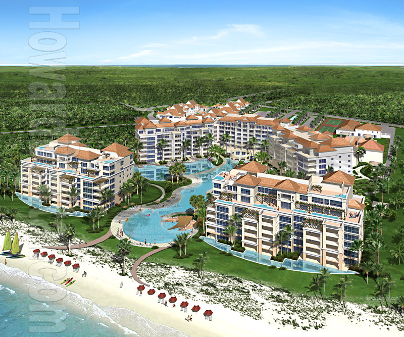 Architectural Rendering Mandalay Resort Turks And Caicos Islands Providenciales Grace Bay