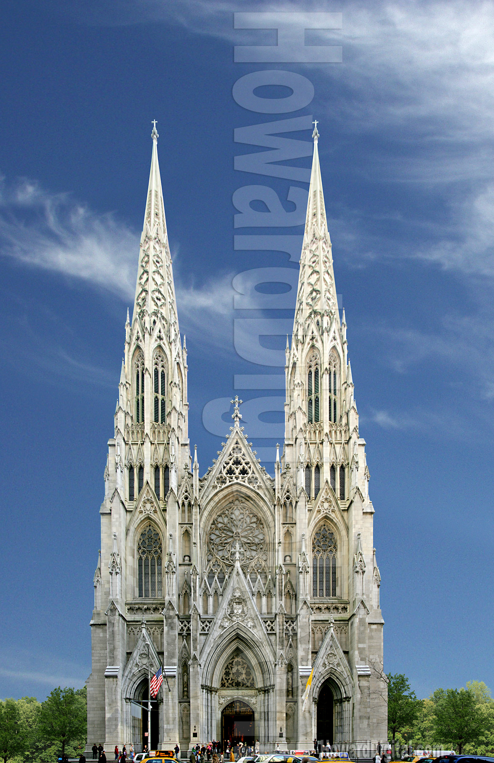 Photography St Patricks Cathedral Keychain Nyc